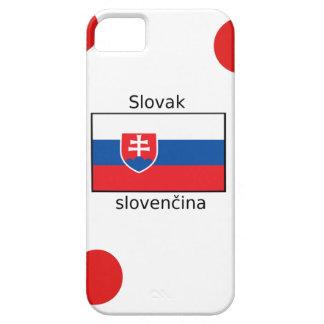 Slovak Language And Slovakia Flag Design iPhone 5 Cover