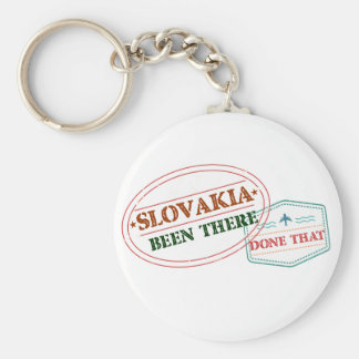 Slovakia Been There Done That Key Ring
