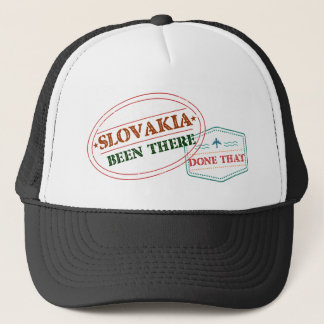 Slovakia Been There Done That Trucker Hat
