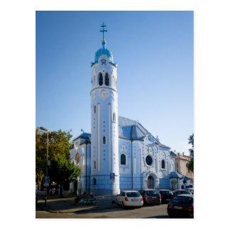 Slovakia - Bratislava - Blue Church Postcard