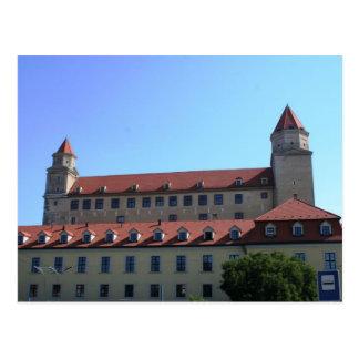 Slovakia - Bratislava - Castle From Below Postcard