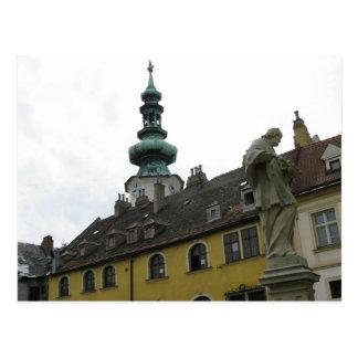 Slovakia - Bratislava - Clocks Postcard