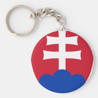 Slovakia coat of arms key ring