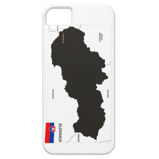 slovakia country political map flag barely there iPhone 5 case