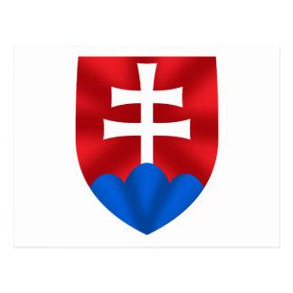 Slovakia emblem for Slovaks Postcard