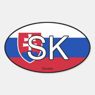 Slovakia Euro Sticker
