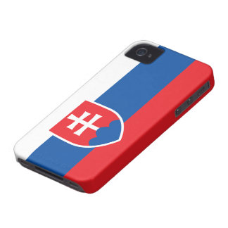 Slovakia Flag iPhone 4 Case-Mate Cases