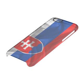 Slovakia flag clear iPhone 6/6S case