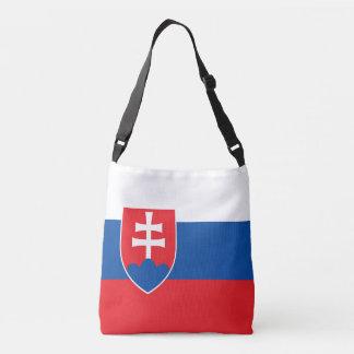 Slovakia Flag Crossbody Bag