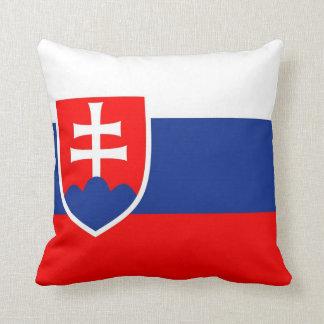Slovakia Flag Pillow
