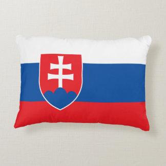 Slovakia Flag Decorative Cushion