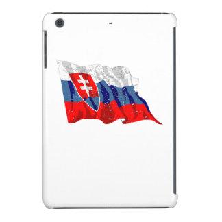 Slovakia Flag (Distressed) iPad Mini Retina Cases