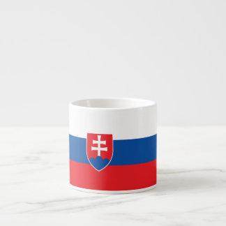 Slovakia Flag Espresso Cup