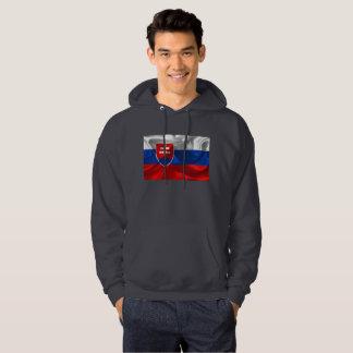 Slovakia flag hoodie