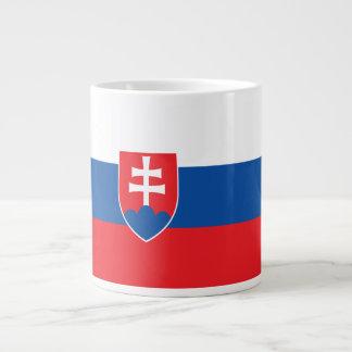 Slovakia Flag Large Coffee Mug