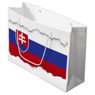 Slovakia Flag Large Gift Bag