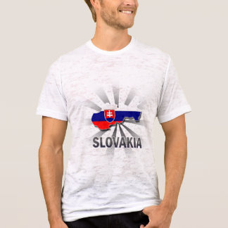 Slovakia Flag Map 2.0 T-Shirt