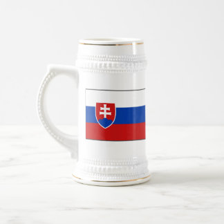 Slovakia Flag ~ Map Mug