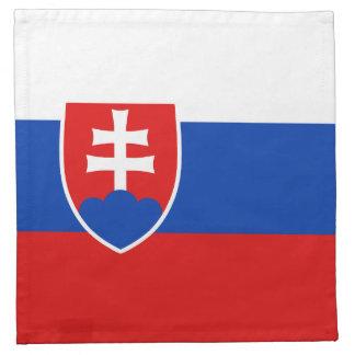 Slovakia Flag Napkin