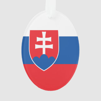 Slovakia Flag Ornament