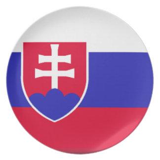 Slovakia Flag Plate