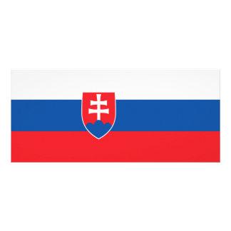 Slovakia Flag Rack Card