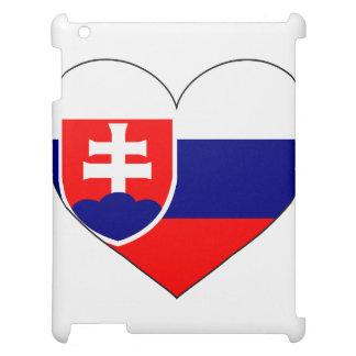 Slovakia Flag Simple iPad Case