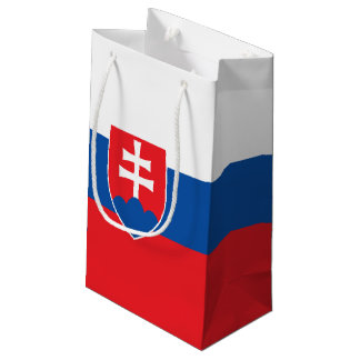 Slovakia Flag Small Gift Bag