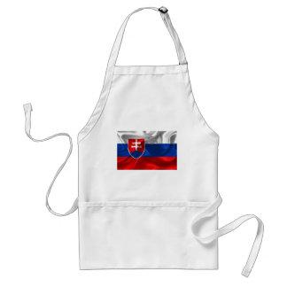 Slovakia flag standard apron