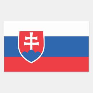 Slovakia Flag Stickers* Rectangular Sticker