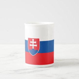 Slovakia Flag Tea Cup