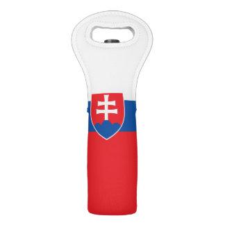 Slovakia Flag Wine Bag