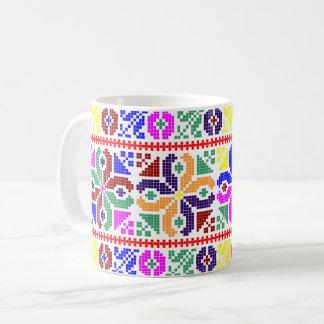 slovakia folk pattern motif traditional ethnic sym coffee mug