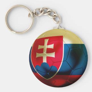 Slovakia Football Key Ring