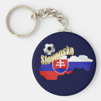 Slovakia  Map bend it Slovaks Slovensko gifts Basic Round Button Key Ring