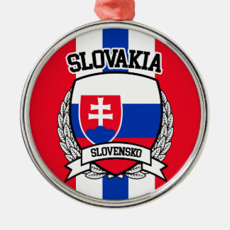 Slovakia Metal Ornament