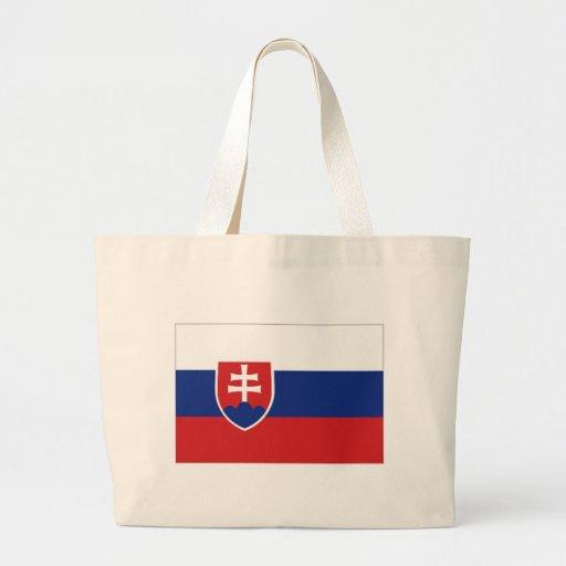 Slovakia National Flag Canvas Bag
