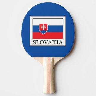 Slovakia Ping Pong Paddle