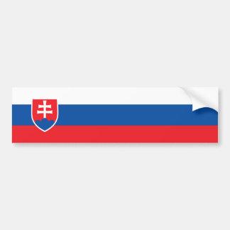 Slovakia/Slovak/Slovakian Flag Bumper Sticker