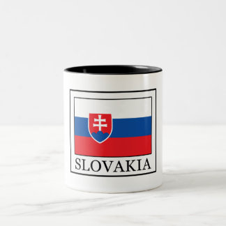 Slovakia Two-Tone Coffee Mug