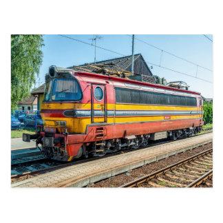 Slovakia ZSSK el. locom. type 240 Postcard