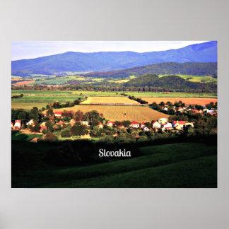 Slovakian Countryside Landscape Poster