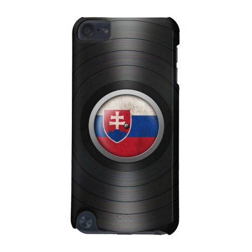 Slovakian Flag Vinyl Record Album Graphic iPod Touch 5G Cover