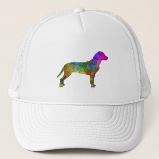 Slovakian Hound in watercolor Trucker Hat
