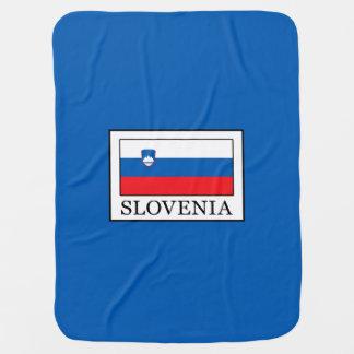 Slovenia Baby Blanket