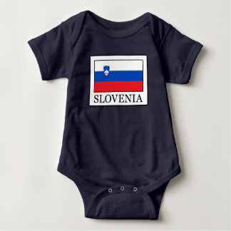 Slovenia Baby Bodysuit