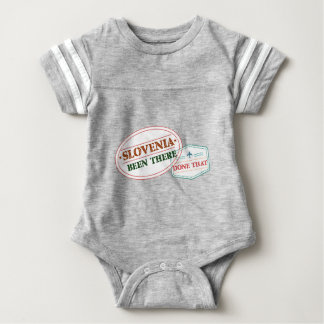 Slovenia Been There Done That Baby Bodysuit