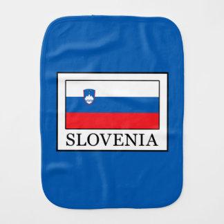 Slovenia Burp Cloth