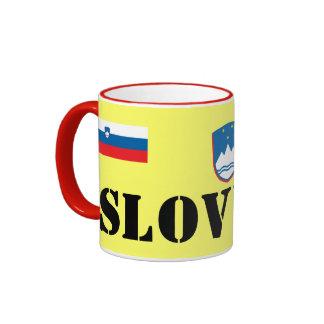 Slovenia Ceramic Mug / slovenščina keramični vrč
