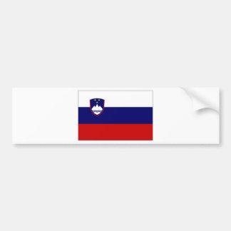 Slovenia Civil Ensign Bumper Sticker